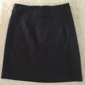 Banana Republic  Black Lined Pencil Skirt